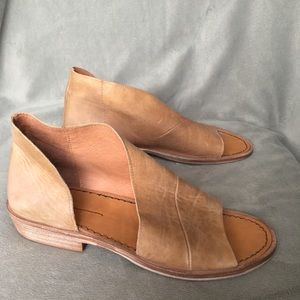 New Free People Mont Blanc Sandals Leather 36.5